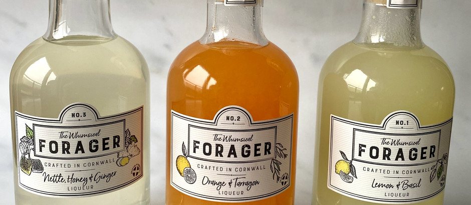 The Whimsical Forager liqueurs