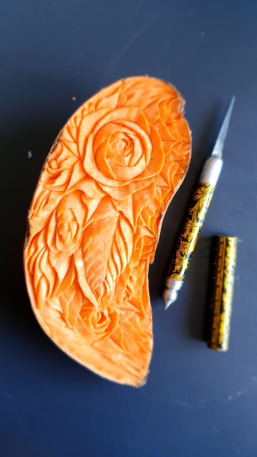 Sweet Potato sculpture