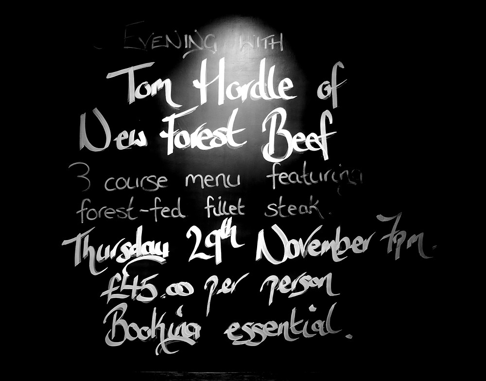 An evening with Tom Hordle