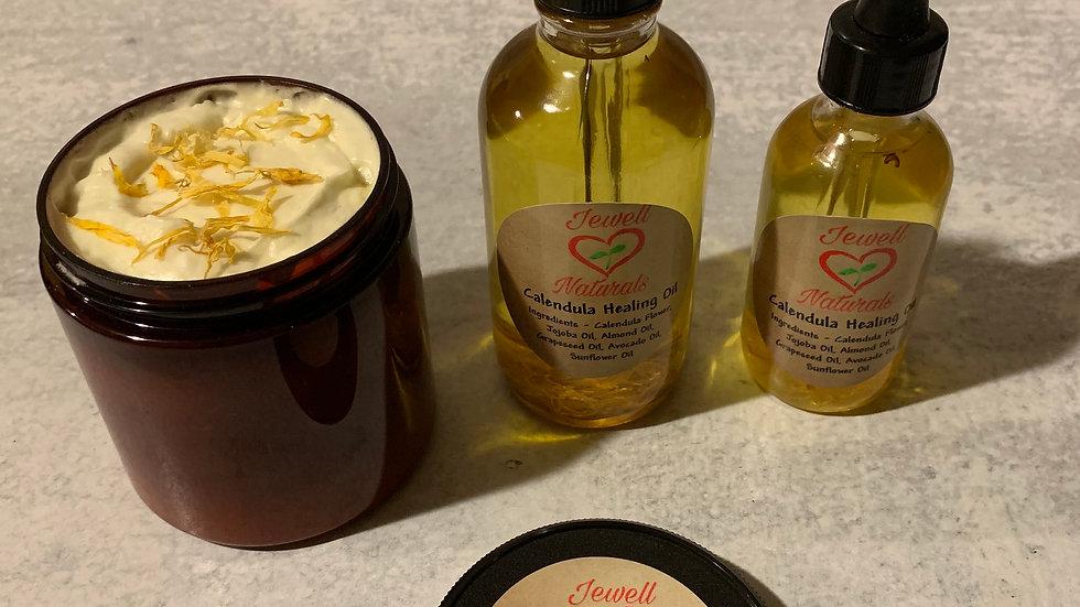 Calendula Healing Butter & Calendula Healing Oil