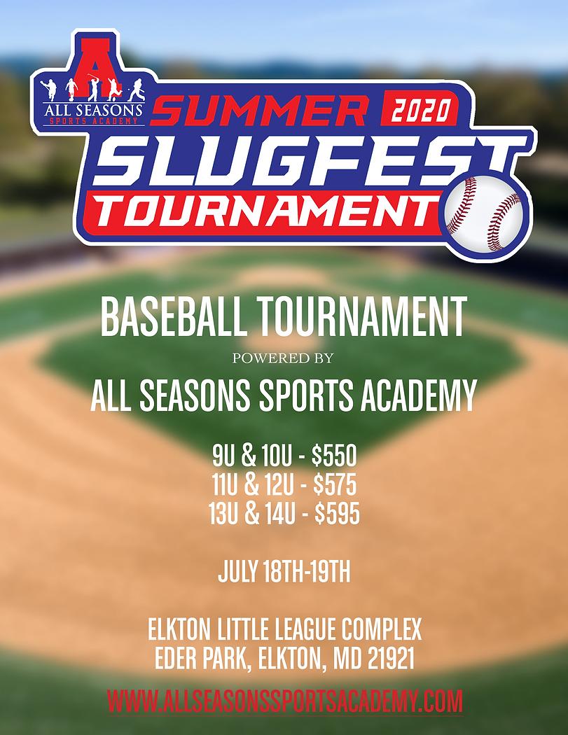 2020 Summer Slugfest Tournament Flyer.pn