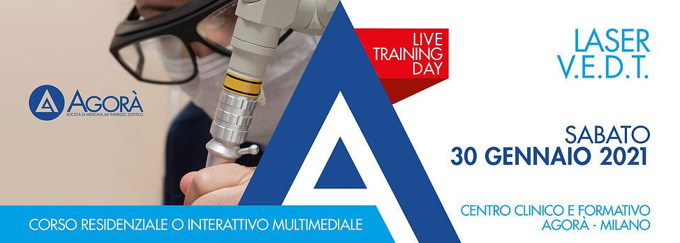 Agorà Medicina Estetica - training pratico Leser V.E.D.T