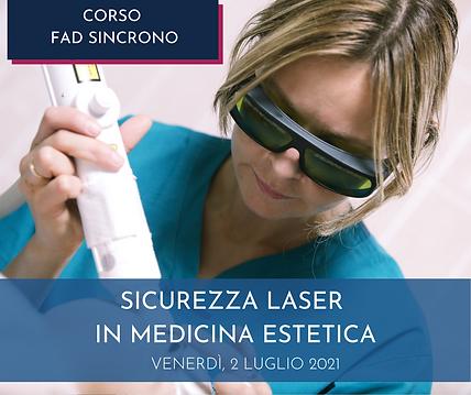 Agorà Medicina Estetica -corso ECM - sicurezza laser
