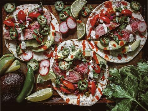 Carne Asada Ranch Tacos Recipe