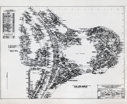 Landscape Planning Section, September 1, 1936, by Alfred Caldwell courtesy of Chicago Public Library Special Collections
