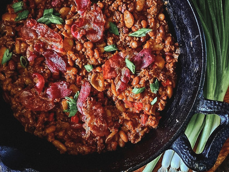 Hearty BBQ Beans Recipe