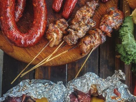 Thai Style Grilled Pork Skewers Recipe