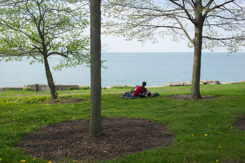 """""""Saturday on Promontory Point"""" by Marc Monaghan"""
