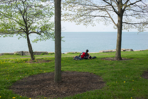 """Saturday on Promontory Point"" by Marc Monaghan"