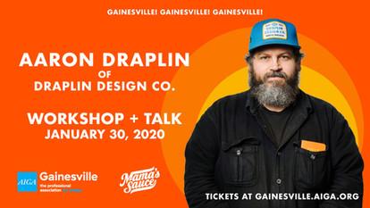 Draplin 2020 Event Promo Graphic
