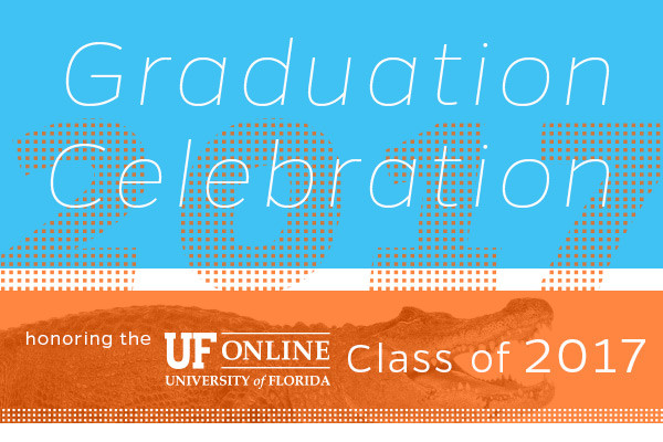 Email Graphic for UF Online Commencement Event