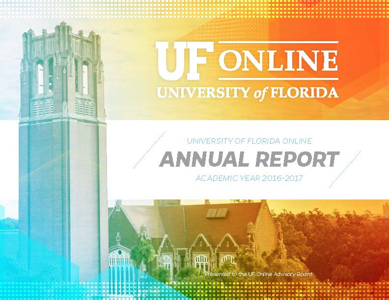 2017 Annual Report for UF Online