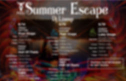 Summer_escape 2019 linup and program-pag