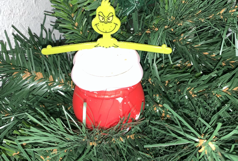 Grinch Fizzy Bath Bomb