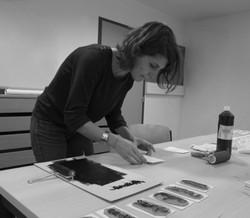 Natacha Debar, graphiste
