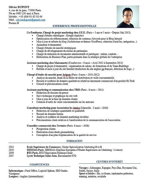 Pack CV & Lettre de motivation