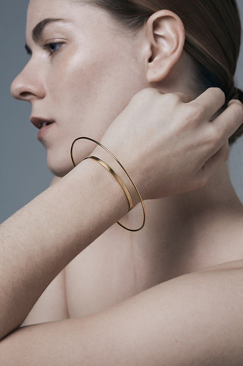HALO bangle (gold)