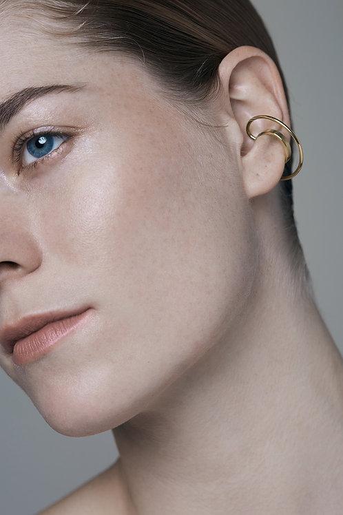 HALO ear cuff (gold)