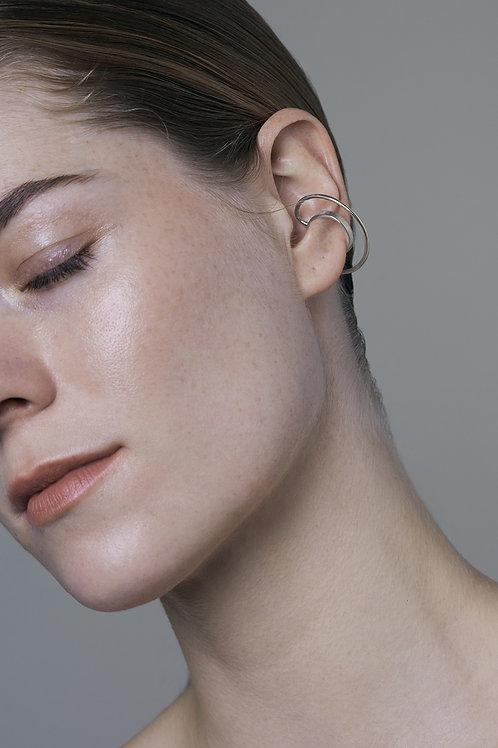 HALO ear cuff (silver)