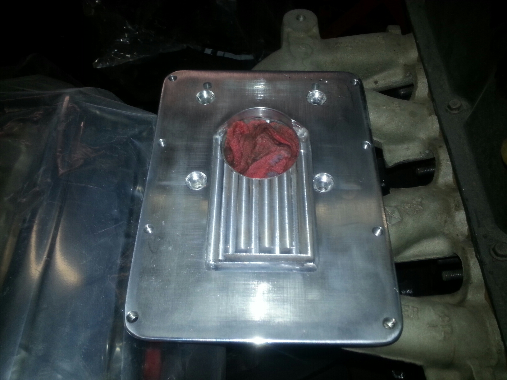 supercharger adaptor