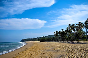 Beach at San Pancho, Nayarit, Mexico