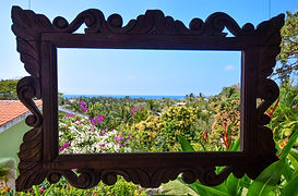 View from Inn at San Pancho, Nayarit, Mexico