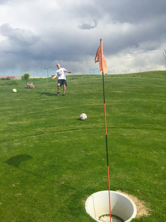 Working for Altitude Sports TV - FOOTGOLF