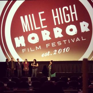 """""""M"""" WON Best Local Short Film Festival - MILE HIGH HORROR FILM FESTIVAL!"""