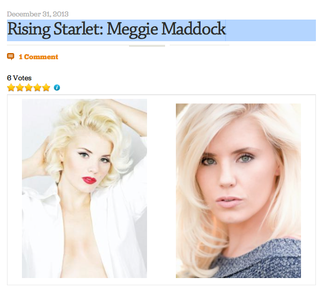 Rising Starlet: Meggie Maddock Actress & Life Obsession