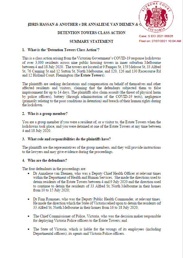 Detention Towers Summary Statement SEALED page 1.png