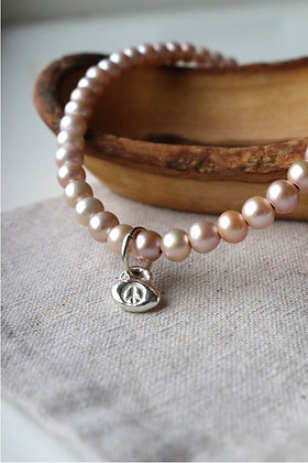 Flower Child Pearl Necklace | Sterling Silver