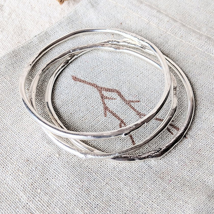 Sterling Silver Bangle- Whitney Haynes Designs - Canadian
