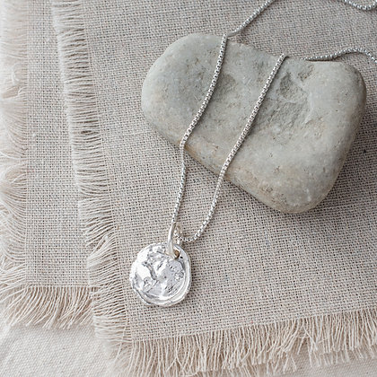 Ubuntu 'Love' Necklace | Sterling Silver