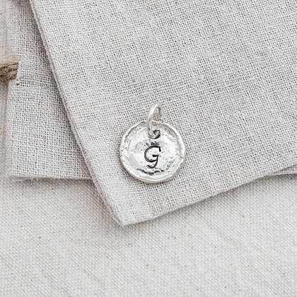 Round Heirloom Tag (only) | Sterling Silver