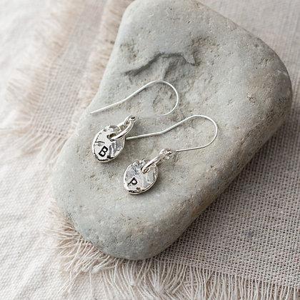 River Pebble Heirloom Earrings | Sterling Silver