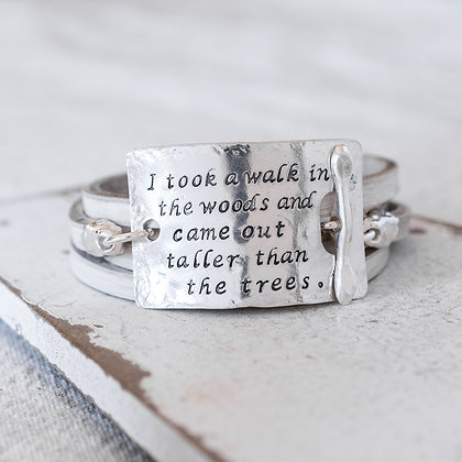 """A walk in the woods"" Word Wrap 