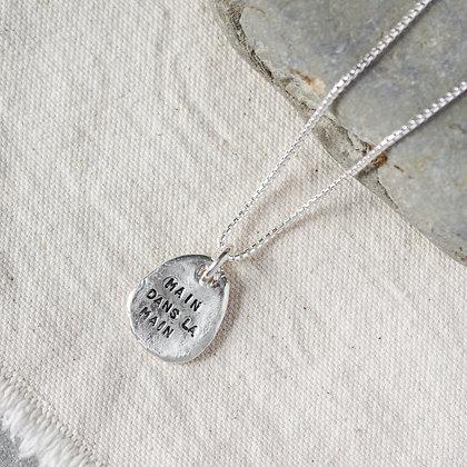 'Main dans la main' Necklace | Sterling Silver