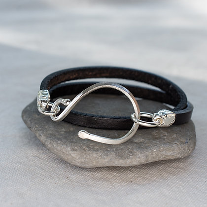 Stable Wrap in Blacksmith | Sterling Silver
