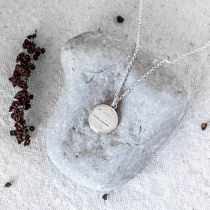 Northern Echo Necklace (Double-Sided) | Sterling Silver