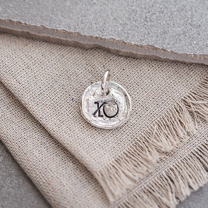 'XO' Tag (only) | Sterling Silver