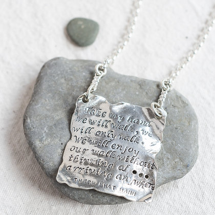 """""""Take my hand"""" Page Pendant 