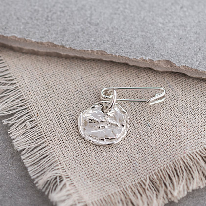 WHD Signature Pin | Sterling Silver