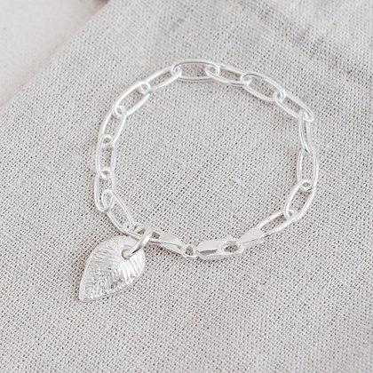 Begin Again Link Bracelet | Sterling Silver