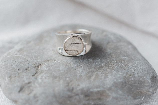Canadiana Birch Ring | Sterling Silver