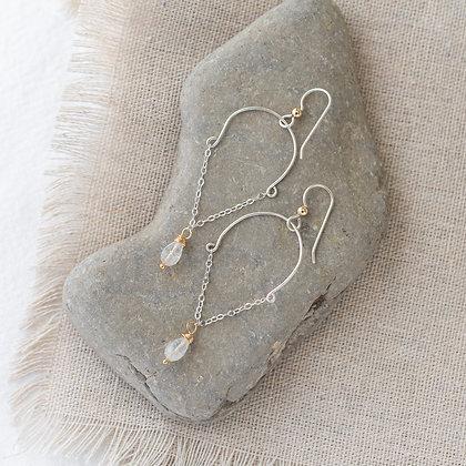 Moonlight Chandelier Earrings | Sterling Silver