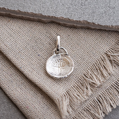 'Stay Lost' Compass Tag (only) | Sterling Silver