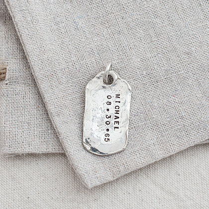 WHD Dog Tag (only) | Sterling Silver