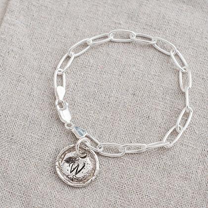 Heirloom Tag Bracelet | Sterling Silver