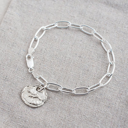 WHD Signature Link Bracelet | Sterling Silver