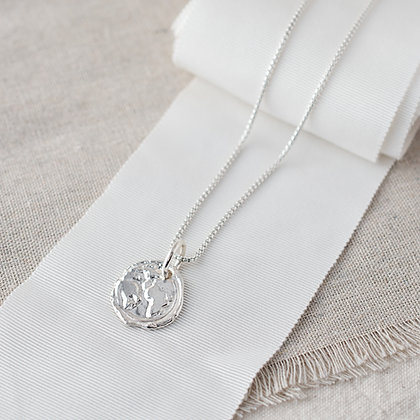 Ubuntu 'Love' Necklace with Diamond | Sterling Silver